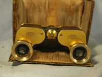 '          1911  CARL ZEISS -VERY RARE- ' Carl Zeiss Gold + Snakeskin 3x Teleater in Case £299.99